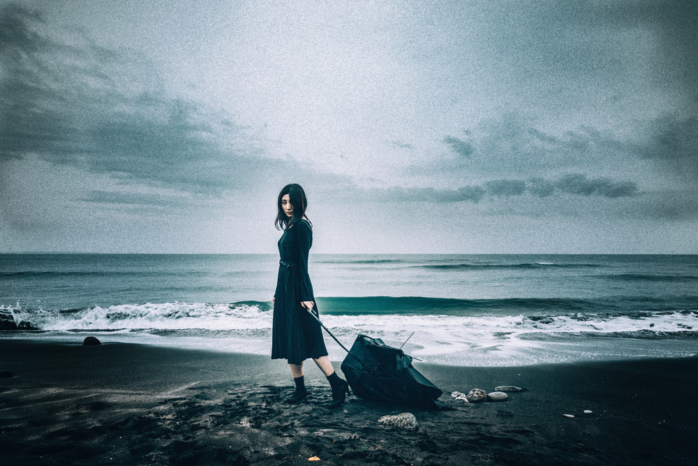 Fotokonst stormy seas