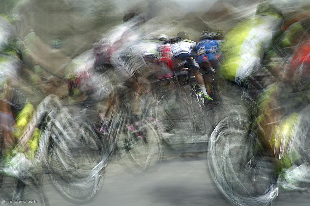 Fotokonst race in action