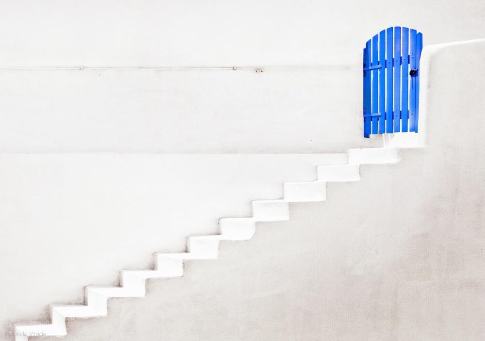 Fotokonst the blue gate