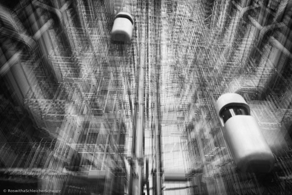 Fotokonst lift into the future