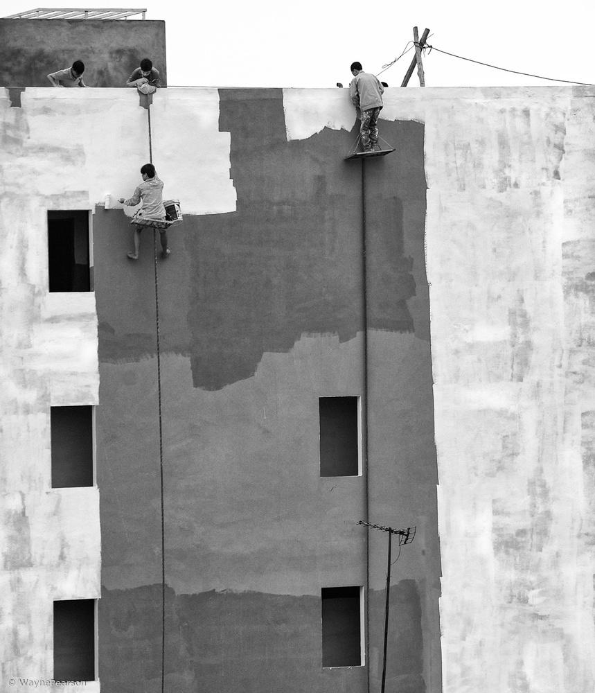 Fotokonst Living Beyond The Edge