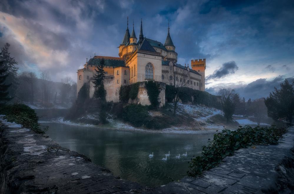 Fotokonst Bojnice Castle