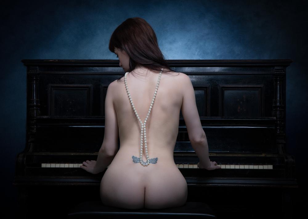 Fotokonst The Piano I
