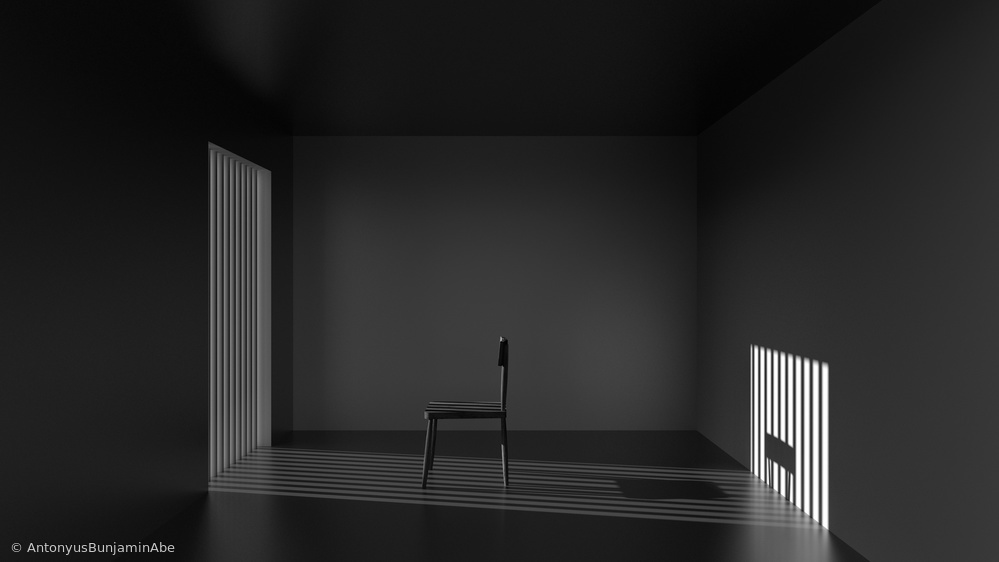 Fotokonst Emptyness of Jail