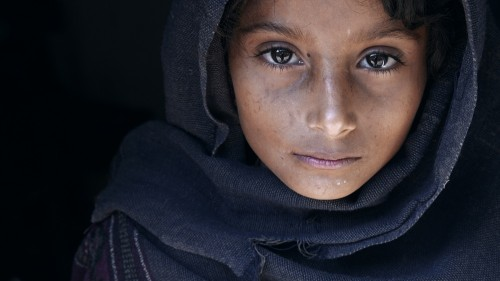 Natayah - A girl from nepal by Mohammed Baqer