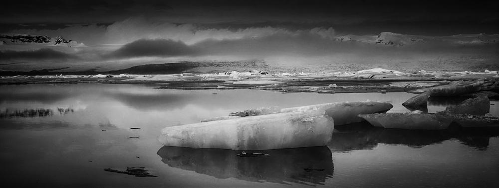 Fotokonst Frozen in Iceland
