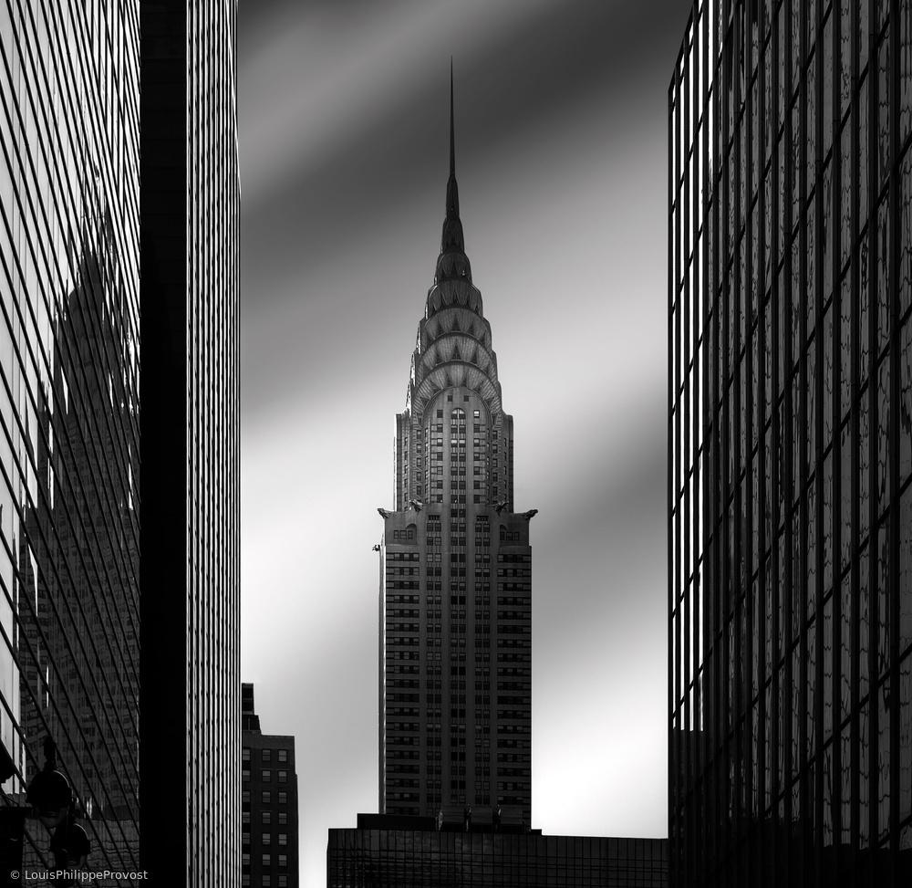 Fotokonst The Chrysler building