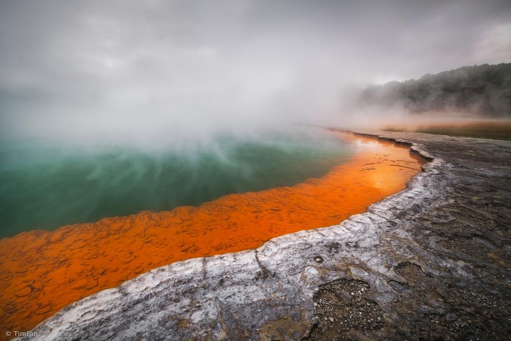 Fotokonst Pool of Hell