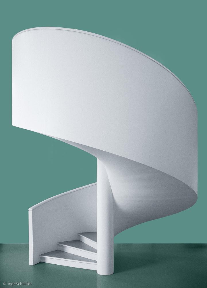 Fotokonst Spiral staircase