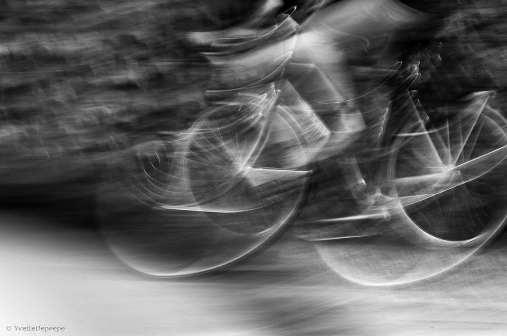 Poster Biking : the sportive look