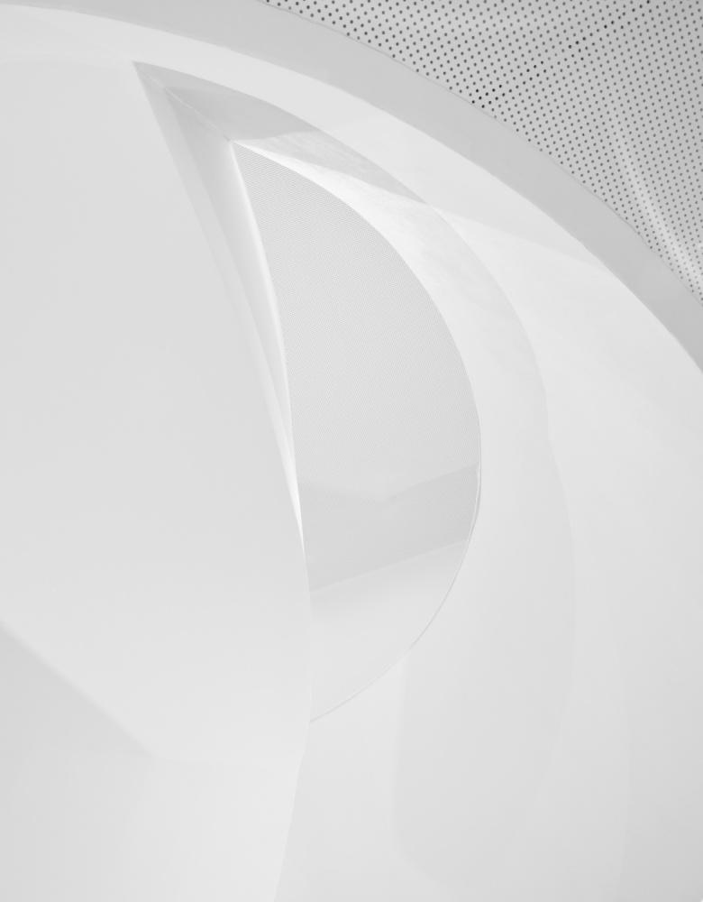 Fotokonst Shapes in white
