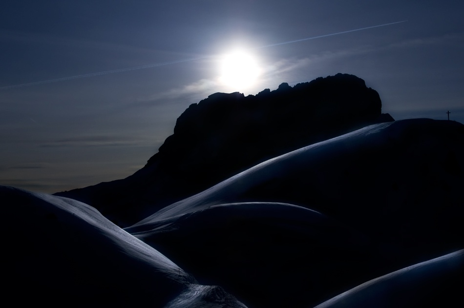 Poster Mountain Sunset