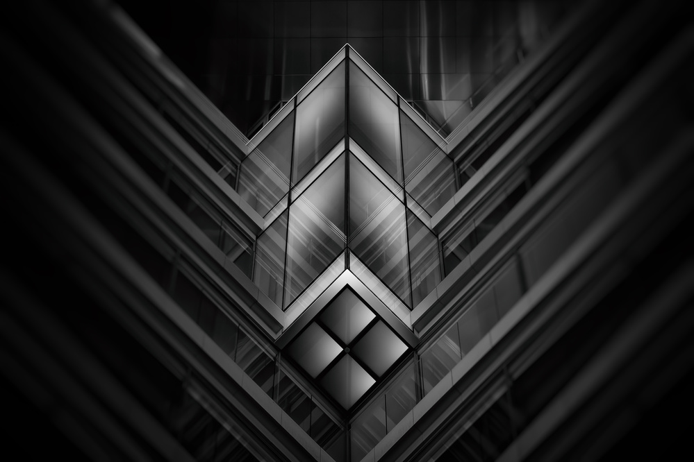 Fotokonst H6xaedrum I