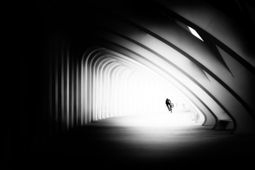 the tunnel by Juan Luis Duran