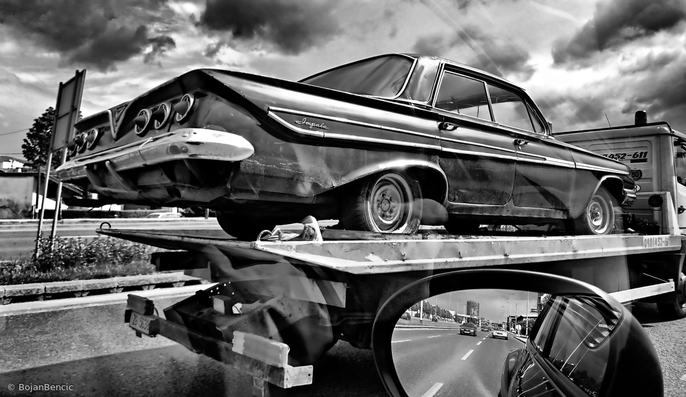 Fotokonst Road to Future
