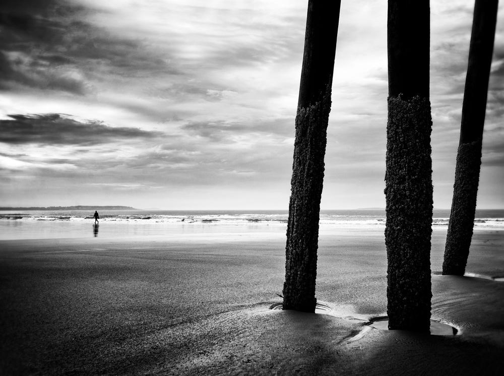 Fotokonst Walking away