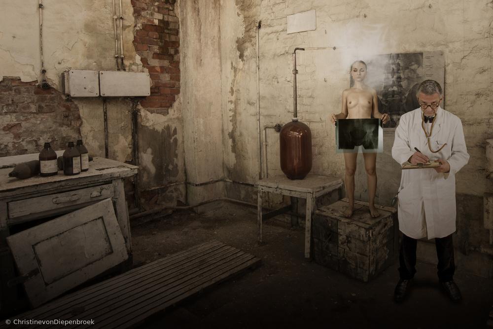 Fotokonst The laboratory