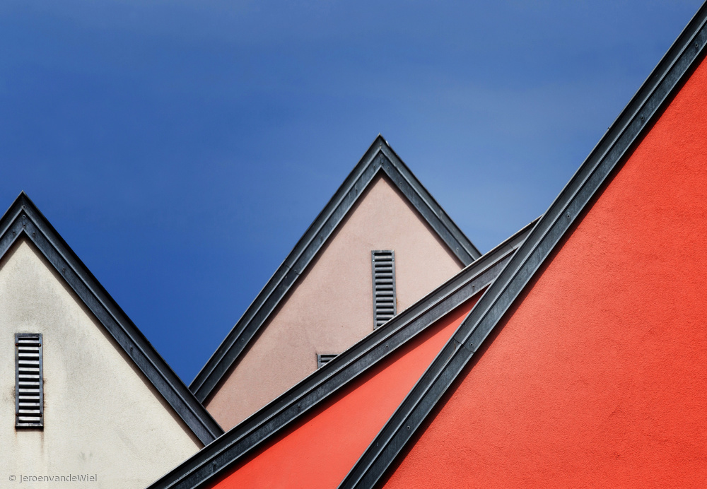 Fotokonst Roof lines