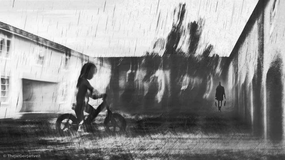 Fotokonst  SECRET GARDEN